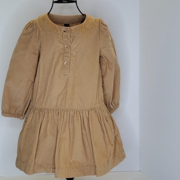 Baby Gap Tan Courtney dress size 4T